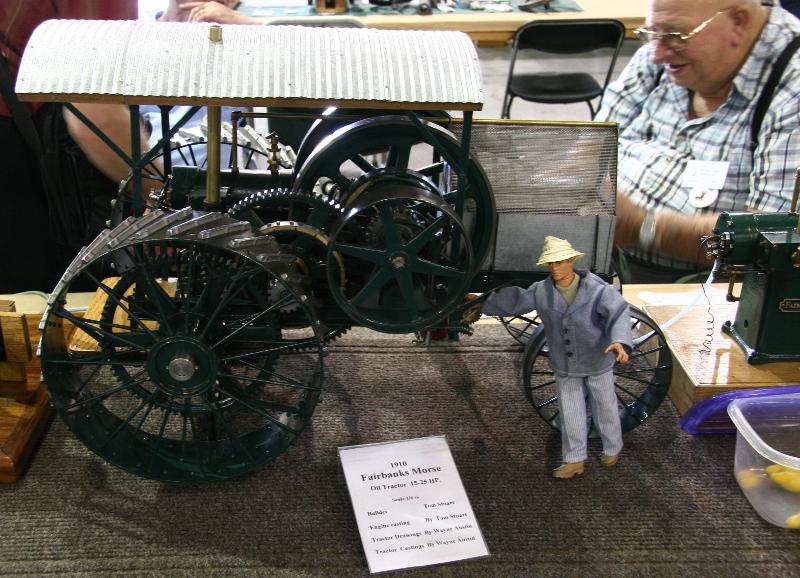 1910 Fairbanks Morse Oil Tractor Model by Tom Stuart