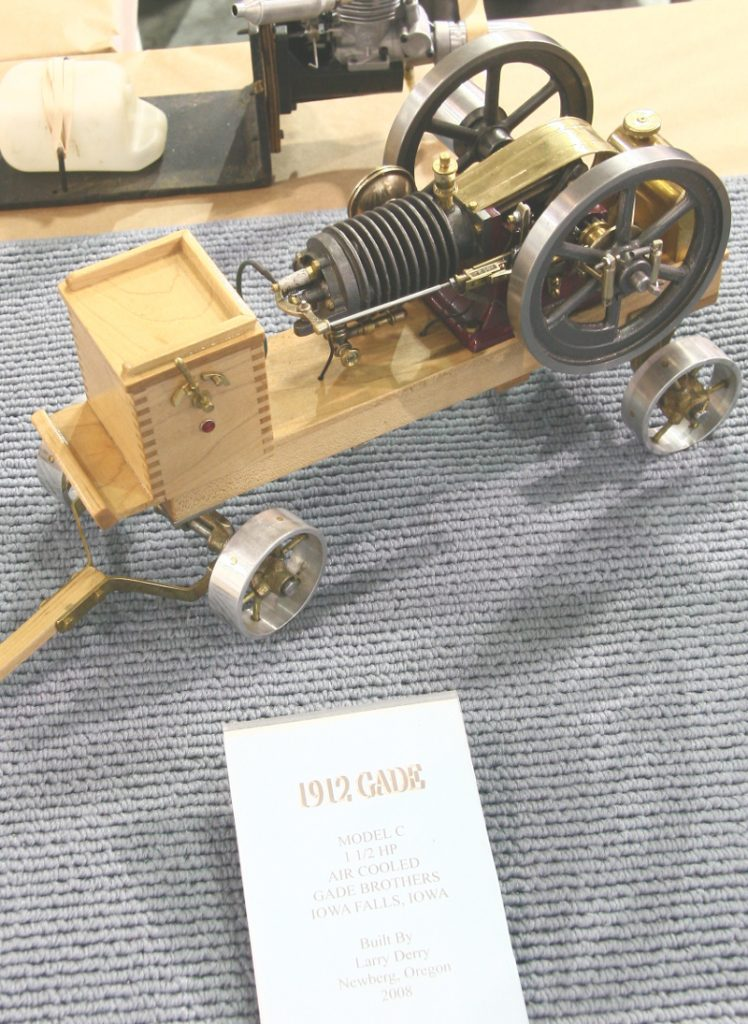 1912 Cade engine model by Larry Derry