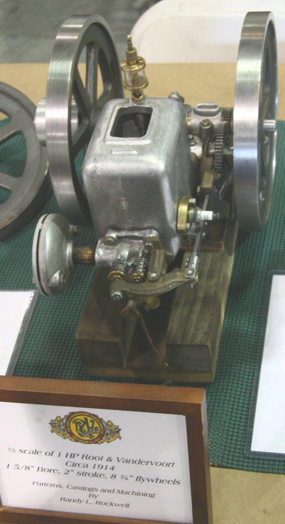 1 HP Root & Vandervoort model engine by Randy L. Rockwell