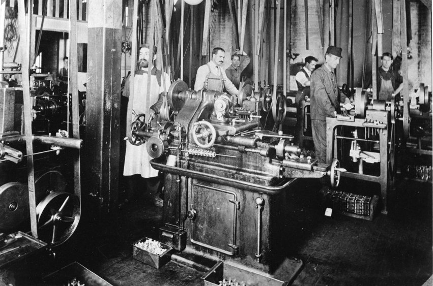 Early GM Machine Shop