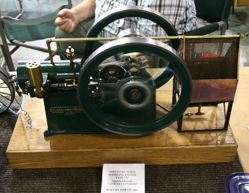 Fairbanks Morse Type N Model Engine by Tom Stuart