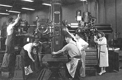 Langley Machine Shop 1943