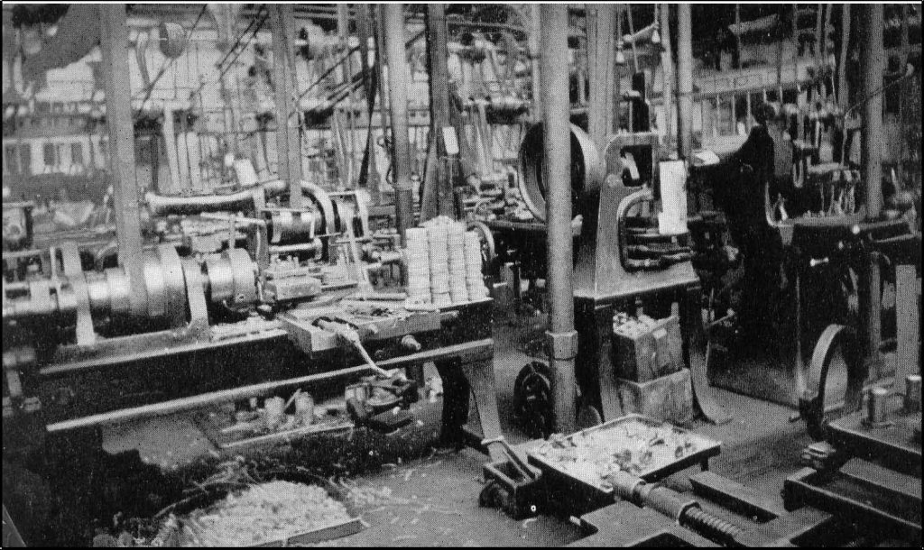 Woolwich Arsenal Machine Shop WWI