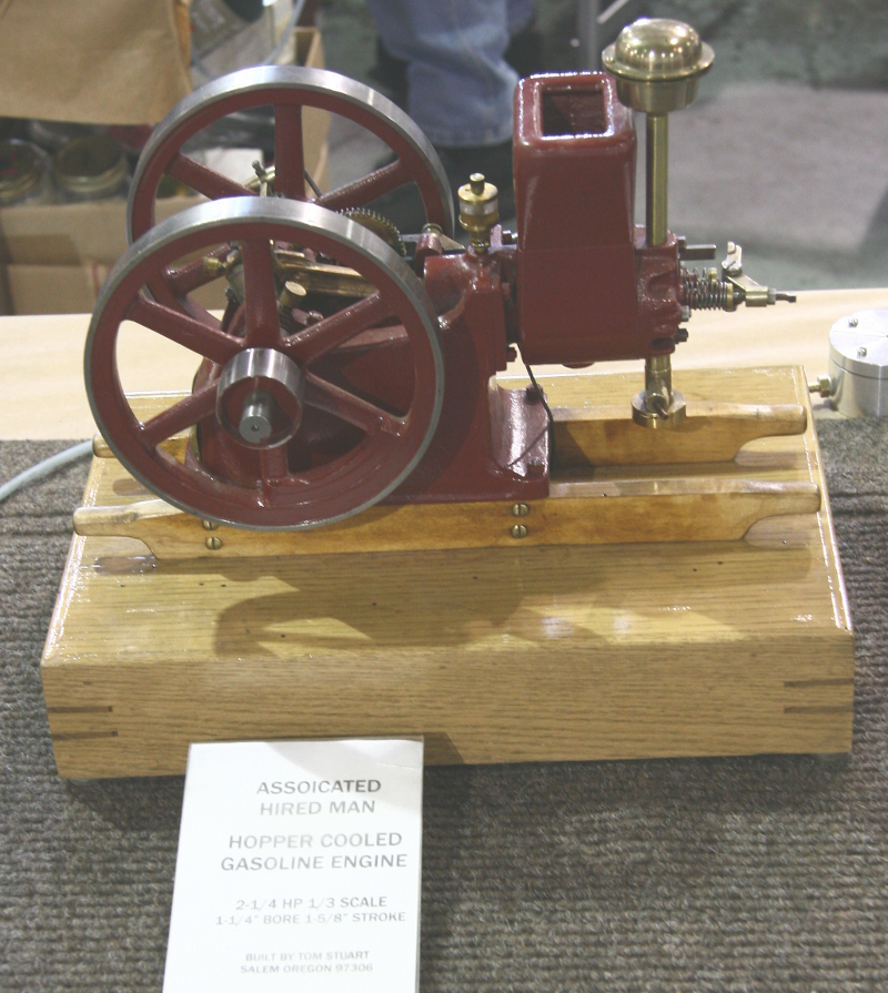 Associated Hired Man engine model by Tom Stuart