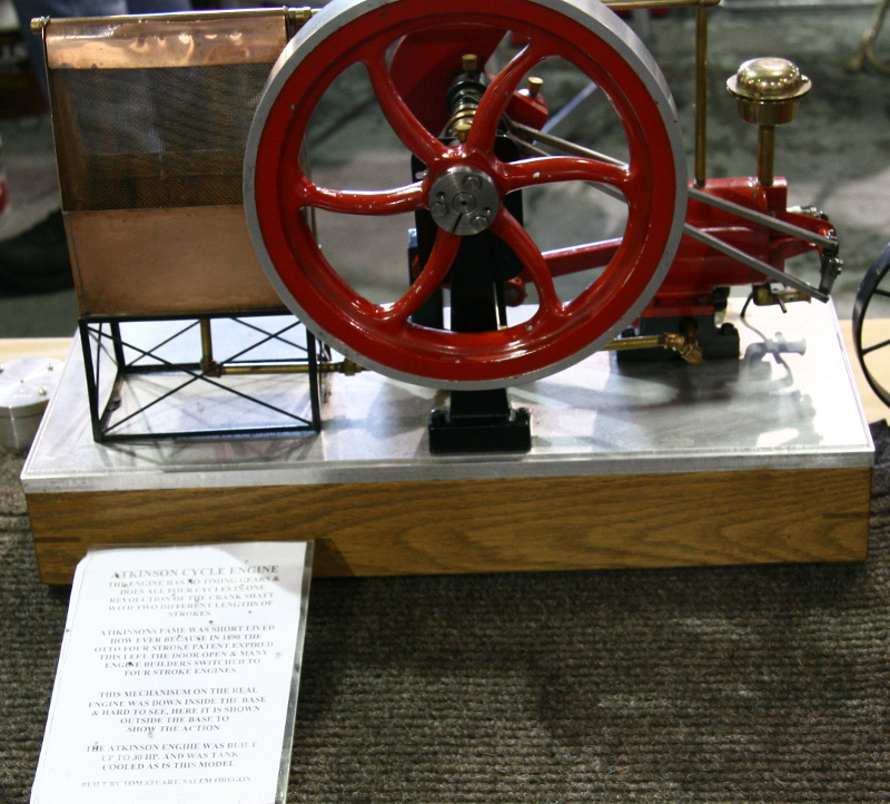 Atkinson cycle engine model by Tom Stuart