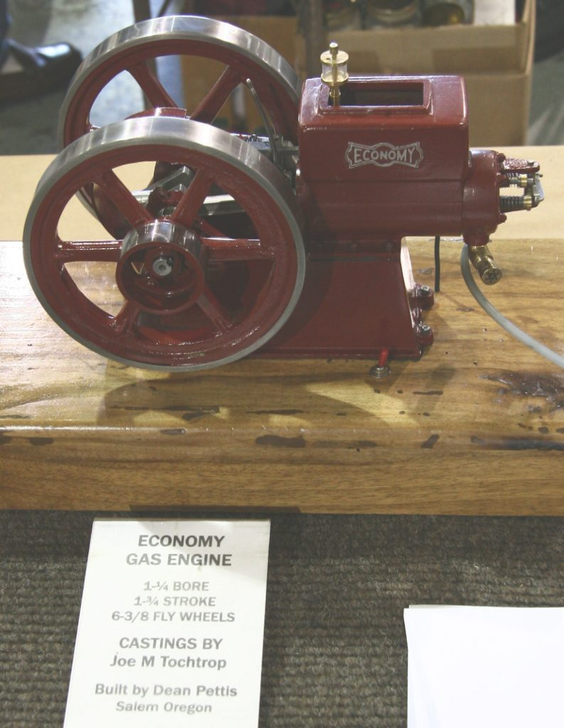 Economy gas engine model by Dean Pettis