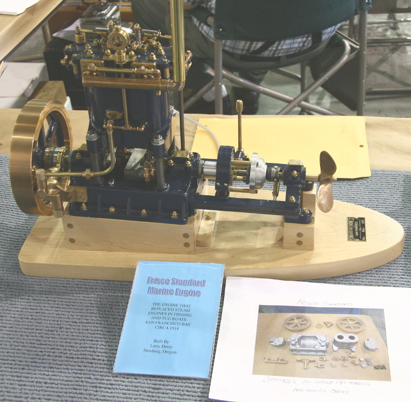 Frisco Standard marine engine model by Larry Derry