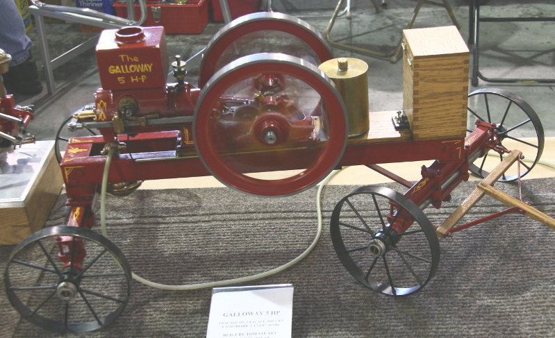 Galloway 5 HP engine model by Tom Stuart