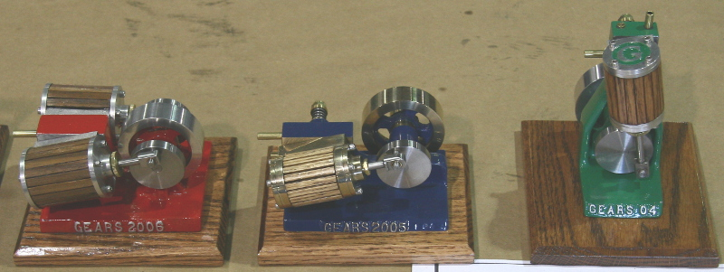 GEARS model engines 2003, 2004, 2006