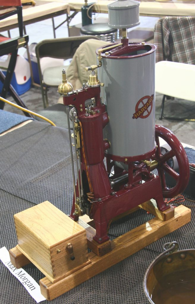 Model engine by Max Morgan