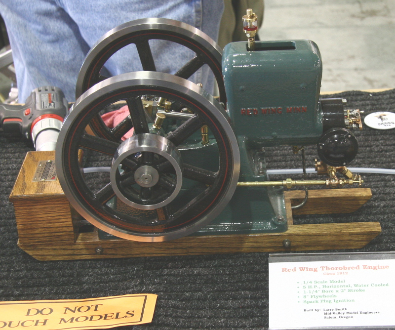 Red Wing Thorobred engine model by Larry Smith