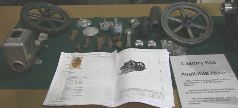 Root & Vandervoort casting kits
