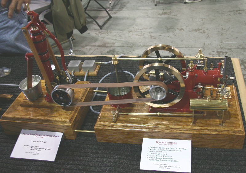 Wyvern engine and farm well pump models by Larry Smith